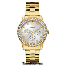 NEW GUESS WATCH for Women * Gold Tone Stainless Steel * Multi-Function * U0335L2