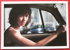 JAMES BOND - Quantum of Solace - Card #066 - Camille Tells Bond To Get In