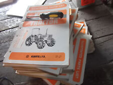 Kubota Generator Illustrated Parts List A2200 A3000 A3500