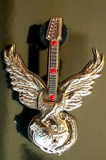 HRC Hard Rock Cafe Online Dark Romance Series 2007 3D Winged Guitar LE300