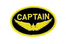Patch ecusson brode thermocollant marine naval aviation captain r2 bateau avion