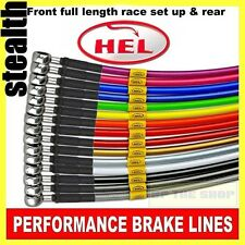 Honda CBR750 Japanese Import 1987-88 HEL Stainless Brake lines / hose Race set