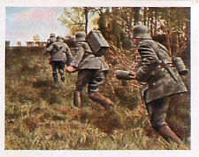 German Soldiers Battery squad Dormans Deutsches Heer WWI WELTKRIEG 14/18 CHROMO