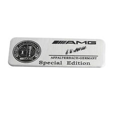 3D Aluminium AMG MERCEDES-AMG Emblem Decal Badge Sticker for Mercedes-Benz