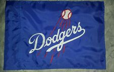 Custom DODGERS Flag for  ATV Dirt Bike Dune Safety Flag