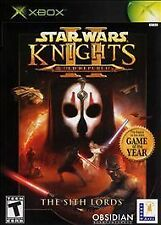 Star Wars: Knights of the Old Republic II -- The Sith Lords (Microsoft Xbox,...