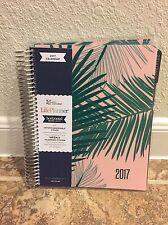 Erin Condren Weekly Planner Life Planner Calendar Floral 2017 Pink Palm Pocket