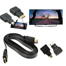 1080P HDMI Cable & HDMI zu Mini & Micro Adapter Kit Set für Android Tablet PC TV