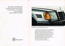PUBLICITE ADVERTISING  1991   MERCEDES-BENZ 190D 2.5 TURBO  ( 2 pages)
