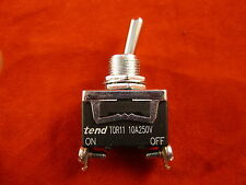 tend TOR-11B On-Off Position Toggle Switch (Spring Return)