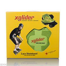 XGLIDER - 2 Piece of skateboard Street Board New freeline style XLIDER