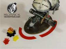 40k Knight Shield Marker Kit - Color Red Imperial Knight