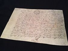 CONTRACT PARCHMENT 1788