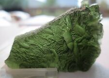 62.50 ct Natural Moldavite, Green Tektite / Meteorite, Czech Republic # TGM 107