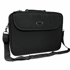 "VALIGETTA CUSTODIA BORSA PORTA DOCUMENTI COMPUTER PC NOTEBOOK 15,6"" NERO NEW"