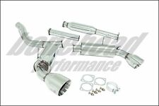 Manzo Performance Stainless Cat Back Exhaust System 2013-2016 Scion F-RS V3