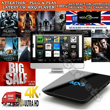 2017 MXQ M8S 4K Quad Core Android Smart TV Box Streaming Stick HD Media Player
