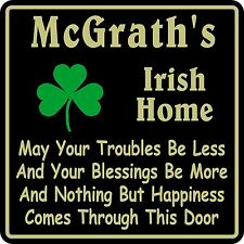 New Personalized Custom Name Irish Pub Bar Beer Home Decor Gift Plaque Sign #10