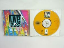 LIVE 3DO MAGAZINE 2 3DO Real Panasonic Import JAPAN Video Game bbc 3d