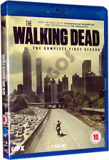 The Walking Dead Complete First Season Blu-Ray Horror TV Series 1 New Sealed