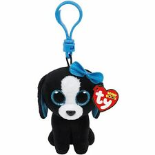 Ty Beanie Boos Tracey the Dog Plush Clip Keychain