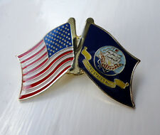 ZPs2 United States Navy USN Flags pin badge Unusual