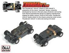 AW AFX 1 NEW ULTRA G THUNDERJET CHASSIS NO BODY HO SLOT CAR CHASSIS