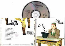 TONY CERCOLA - Et Voilà 1991 Rock Italiano New CD Fuori Catalogo RARITA'