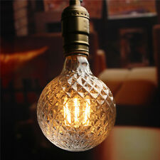 E27 4W Pineapple Vintage Antique Edison Filament COB LED Bulb Light Lamp 85-265V