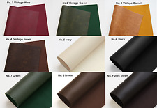 Available hand sewing synthetic leather Leatherette Felt Sheet very soft Tassels
