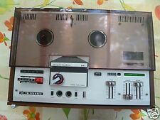 TELEFUNKEN M 241 MAGNETOPHON REEL TO REEL TAPE DECK with original dust-cover(rar
