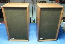 Pair of Vintage Audex 310 Speakers in Good Working condition