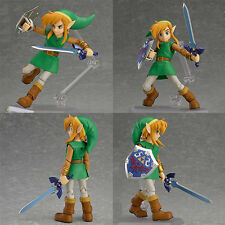 Figma Link Legend of Zelda Game Action Figure Sword Shield Collection Ordinary