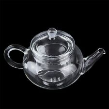 Heat Resistan Glass Teapot With Infuser Coffee Tea Leaf Herbal Pot 250ml WP