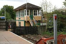 Uckfield Signal Box (in use as taxi office!), East Sussex 2006 Rail Photo