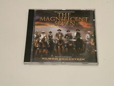 THE MAGNIFICENT SEVEN - HELMER BERNSTEIN - RARE OST CD VARESE SARABANDE - OOP -