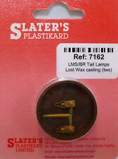 Slaters 7162 - 7mm (0) - 2 x LMS/BR Tail Lamps Cast Brass - 1st Class Post
