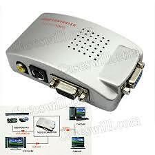 15 PIN VGA to A/V  TV S-Video VGA TO PAL box Conversion Converter Adapterl