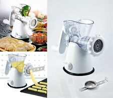 Manual Meat Mincer Grinder & Vegetable Shredder, Biscuit Machine Cookie Maker