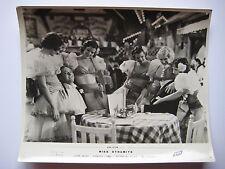 8 PHOTOGRAPHIES ARGENTIQUES 1940-50 8 VINTAGE ORIGINAL PHOTOGRAPHS FILMS USA