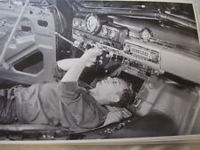 1949 MERCURY DASH  INTERIOR  ON ASSEMBLY LINE 12 X 18 LARGE PICTURE  PHOTO