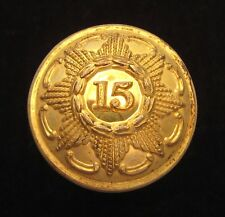 15th (York, East Riding) Regiment of Foot 1855-1881 Officers large Gilt button