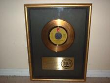 """LOU RAWLS RIAA GOLD RECORD AWARD 45 """"YOU'LL NEVER FIND""""  RARE PHILLY FLOATER!!!"""