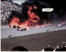 EDDIE SACHS DAVE MacDONALD 1964 INDY 500 8 X 10 PHOTO FATAL FIRE