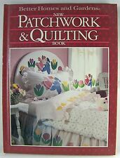 Better Homes & Gardens PATCHWORK & QUILTING BOOK 1987
