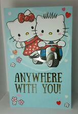 "Valentine Hello Kitty and Dear Daniel Card 8.5"" tall Kawaii Greetings Beautiful"