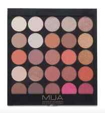 MUA Make Up 25 Shade Eyeshadow Palette Burning Embers Naked Autumn Brown Eye