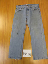 levi 501 feather destroyed grunge jean tag 36x29 Meas 34x28.5 19394F