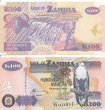 Sambia / ZAMBIA - 100 Kwacha 2010 UNC - Pick 38i