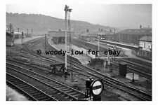 bb0160 - Batley Railway Station , Yorkshire in 1961 - photograph
